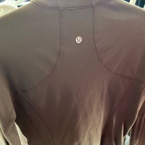 Brown lululemon sweater/jacket